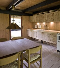 Erik Korshagen Wood Interiors, Conference Room, Cottage, Table, Furniture, Home Decor, Cook, Vacation, Summer