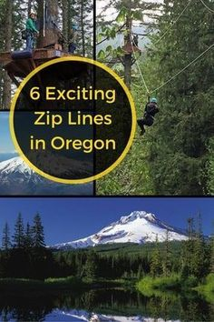 Imagine the travel adventure as you go zipping through the canopy of a fir forest on your visit to the Portland, Oregon area. Check out these 6 great Zip Line tours.