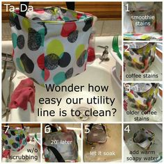 How to Clean Your 31 Utility Line Products www.mythirtyone.com/RandeSerbanjak
