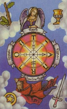 Wheel of Fortune - Connolly Tarot