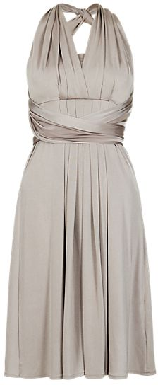 Marks and Spencer M&s Collection Multiway Bodice Skater Bridesmaid Dress ONLINE ONLY on shopstyle.co.uk