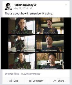 Is Tony Stark In Real Life heres why Funny Marvel Memes, Avengers Memes, Marvel Jokes, Marvel Actors, Marvel Characters, Marvel Avengers, Avengers Cast, Chris Evans, We Have A Hulk