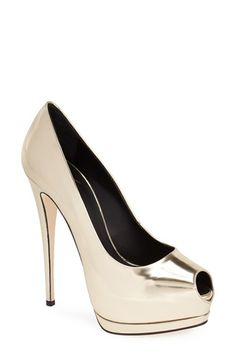 Trendy High Heels For Ladies : Giuseppe Zanotti 'Sharon' Platform Pump (Women) available at Walk In My Shoes, Fab Shoes, Dream Shoes, Me Too Shoes, Shoes Heels, Stilettos, Women's Pumps, High Heels, Sexy Heels