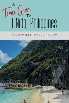 A trip to the Philippines will not  be complete without visiting the idyllic town of El Nido.  Find out how to get there, where to stay, what to do, where to eat and more.  You'll never want to leave!! #Philippines #ElNido