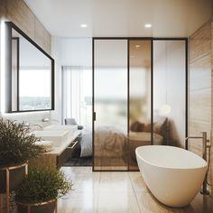 Posuvný systém Premium s dveřmi Sting. Bathtub, Doors, Bathroom, Design, Bath Tube, Slab Doors, Bath Tub, Bathrooms, Bathtubs