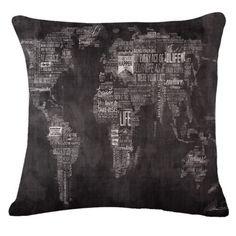 Sherlock Map Animal Pillow Case Pillow Cover Sofa