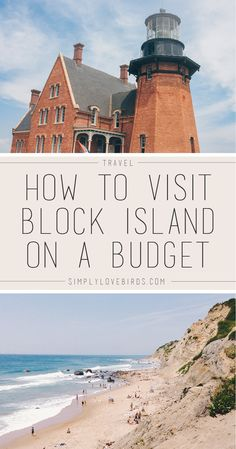 How to Visit Block Island on a Budget / Southeast Lighthouse, Mohegan Bluffs, Rodman's Hollow, and Abram's Petting Zoo, Us Travel Destinations, Places To Travel, Vacation Places, Solo Travel, Travel Usa, Beach Travel, Block Island Rhode Island, Island Girl, Single Travel