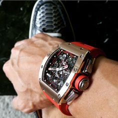 The richest man is not he who has the most! Richard Mille RM011 Red Demon.