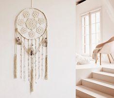 Dream catcher wall hanging boho decor handmede