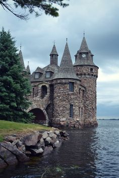 Boldt Castle, located on Heart Island in the Thousand Islands of the Saint…