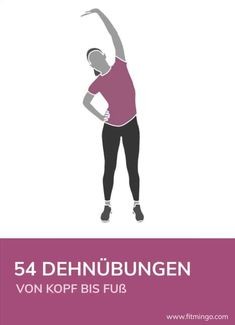 Titelbild 54 Dehnübungen – Keep up with the times. We're here for you. Pilates Workout, Fitness Workouts, Butt Workout, Easy Workouts, Yoga Fitness, At Home Workouts, Pilates Benefits, Yoga Benefits, Nutrition Sportive