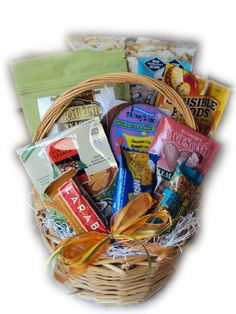 Picture of gluten free gift basket allergy free pinterest gluten free gift basket by well baskets negle Images