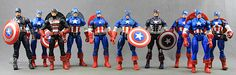 "Counting Down The Top-5 Captain America 6"" Marvel Legends Figures #Marvel"