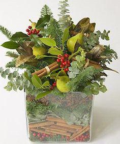 Scented seasonal centrepiece :)                                                                                                                                                                                 More