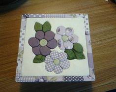 Caixa Floral Lilás