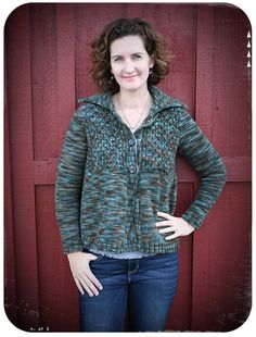 Remember Sweater in Briar Rose Fibers Pilgrim. Pattern by Norah Gaughan. Knitted by Amy Peterman