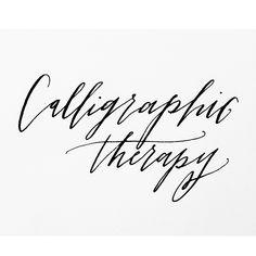 …in progress  // nikko g nib + sumi ink // #calligraphictherapy #calligraphy #torrieasai #doodles
