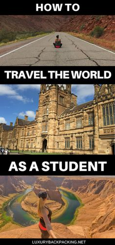 How To Travel The World As A Student. Everything you need to know about cheap travel when studying.