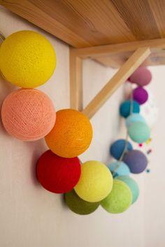 Gu tworzy: Cotton Ball Lights