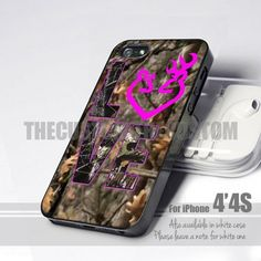 Love Browning Deer Camo - iPhone 4 4s 5, iPod 4 5, Samsung S2, S3, S4 | thecustom - Accessories on ArtFire