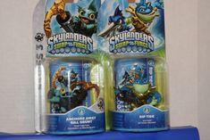 2 Skylanders Swap Force character Gill Grunt y Rip Tide Skylanders Swap Force Characters, Series 3, Anchors, Ebay, Anchor