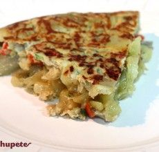 Cómo preparar una tortilla vegetal o con verduras