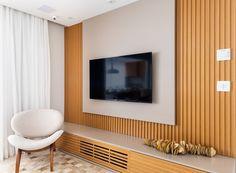 Apartment Interior, Interior Walls, Home Design Decor, Interior Design, Home Decor, Tv Stand Modern Design, Wall Pannels, Pvc Ceiling Design, Tv Wanddekor
