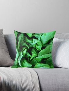 Weather you call it Boston, bib or butter, this vibrantly green lettuce is simply wonderful. Great gift for vegans, chefs, gardeners and raw food lovers. • Also buy this artwork on home decor, apparel, phone cases, and more.