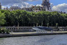 cop21 baleine bleue: Port du Gros caillou - Paris