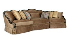 Simone Sectional, Compositions, Schnadig.    Tailored yet curvaceous.    www.mkhomedesign.com
