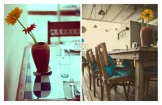 Om made cafe. I was so lucky to shoot such a gorgeous french styled cafe in Bangalore!