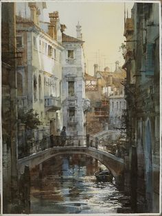My watercolor in Venice ... Chien Chung Wei