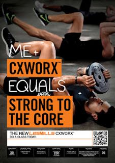 Had an outstanding workout at the fitness center this morning! Love CXWORX!  One of my favorite classes at the gym!