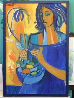 Original oil painting framed by ART-EN-CIEL Painting Frames, Custom Framing, Oil, The Originals, Pictures, Inspiration, Photos, Biblical Inspiration, Framed Art
