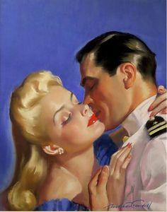 ''Cosmopolitan Clinch'' by Bradshaw Crandell, 1942.
