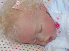 Reborn Girl Doll Kassie Cradle Kit By Linda Murray