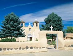 San Francisco de Asis Christian church in Rancho de Taos, N.M.