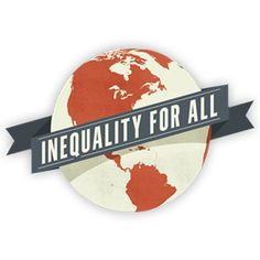 Inequality for All. Documentary available on DVD at the SCSU Library.  HC106.84 .I543 2013