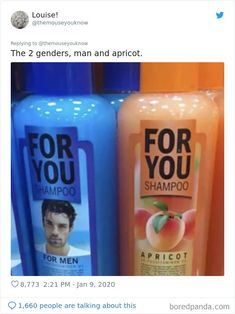 People Are Sharing Unnecessarily Gendered Products To Show How Wrong And Stupid It Is Pics) Fractions, Make You Feel, How Are You Feeling, Likes And Dislikes, Toy Packaging, Hygiene, Drink Bottles, Gender, Real Man