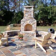 Williams Fireplace Project by Leisure Select | Outdoor Rooms | Indianapolis