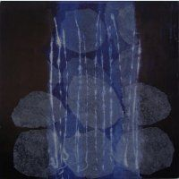 'Waiting' Monotype by Dorothy Hanna