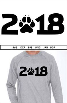 Excited to share the latest addition to my #etsy shop: 2018 #Svg file for Silhouette Year of the dog SVG for #Cricut #NewYear Svg #NYE Svg New years Svg #Chinesenewyear Svg #Vinyl 2018 #Dogpaw Svg #black #newyears #newyearssvg #2018svgfile #svg2018 #silhouette #yearofthedogsvg