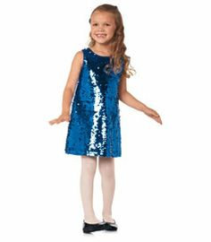 blue sequin party dress - Chasing Fireflies