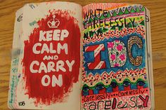is a diary  :B