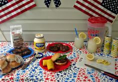 Theme your summer BBQ and get everything you need from grilling to drinks & paper plates to decorations! Pepperidge Farm Cookies, Main Dishes, Side Dishes, Angus Beef, Summer Bbq, Paper Plates, Summertime, Grilling, Decorations