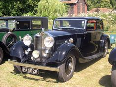 Thrupp Maberly Rolls-Royce 20-25HP Saloon 1934 01
