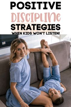 Guide your kids with these positive parenting strategies. Easy tips to get your kids to behave without the harsh punishments or discipline.