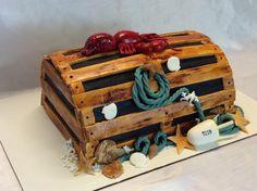 Retro Lobster trap cake