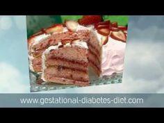 Delicious Strawberry Cake - gestational diabetes recipe
