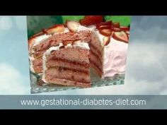 Delicious Strawberry Cake - gestational diabetes recipe